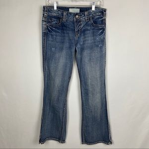 Maurices Jenna Boot Cut Jeans Size 9/10 Short